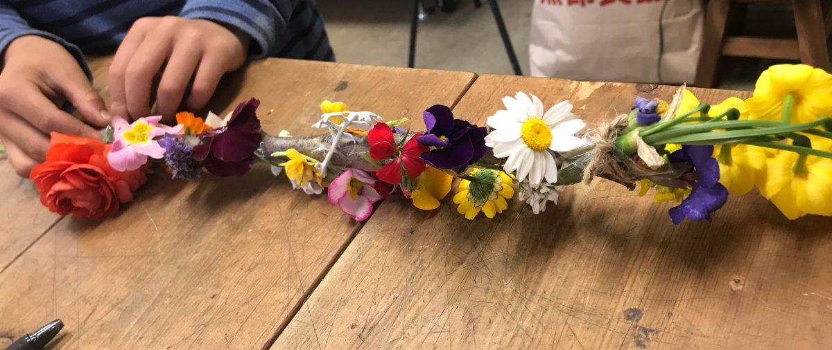 花は子供のお友達