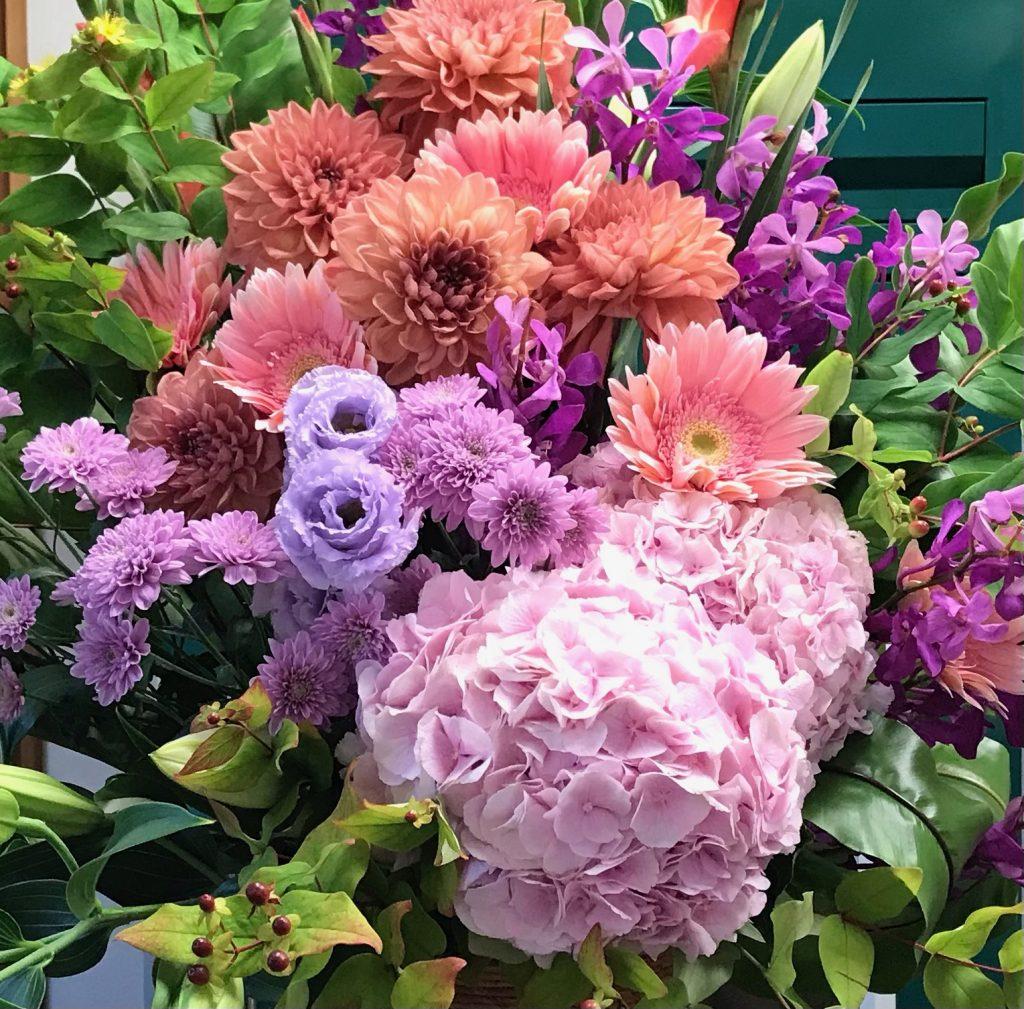 フラワーコンシェルジュは花に関するお悩み解決人